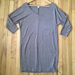 Old Navy Knit Heathered Shift Dress Size Small